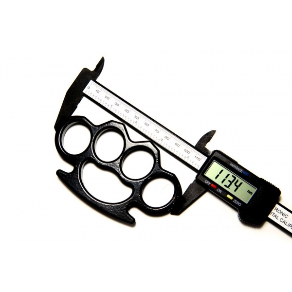 Set baston telescopic negru 50 cm +  box negru 0.5 cm grosime [4]