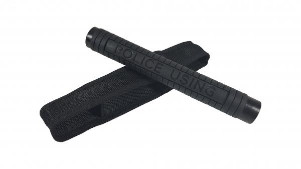 Set baston telescopic Police, 49 cm +  box negru 1 cm grosime 2