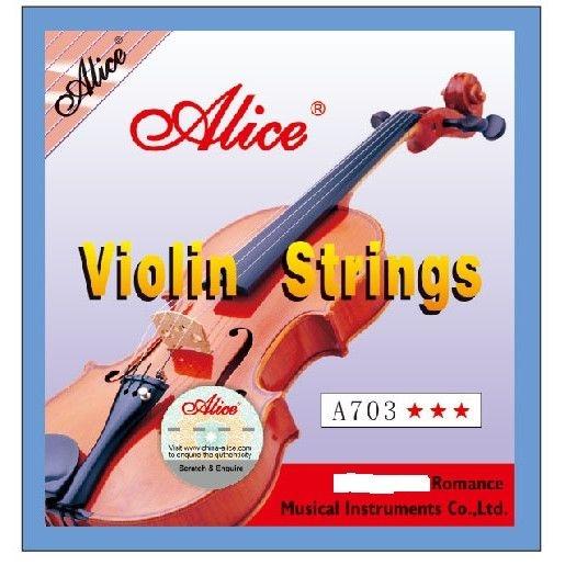 Set corzi vioara Alice A703 4 bucati 2