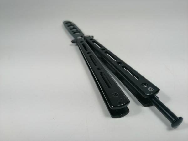 Set Nunceag, 31 cm si briceag fluture, 22 cm, negru 12
