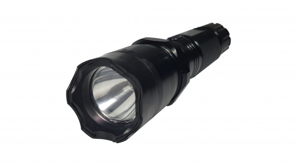 Lanterna cu electrosoc cu acumulator, LED + Box cadou 3