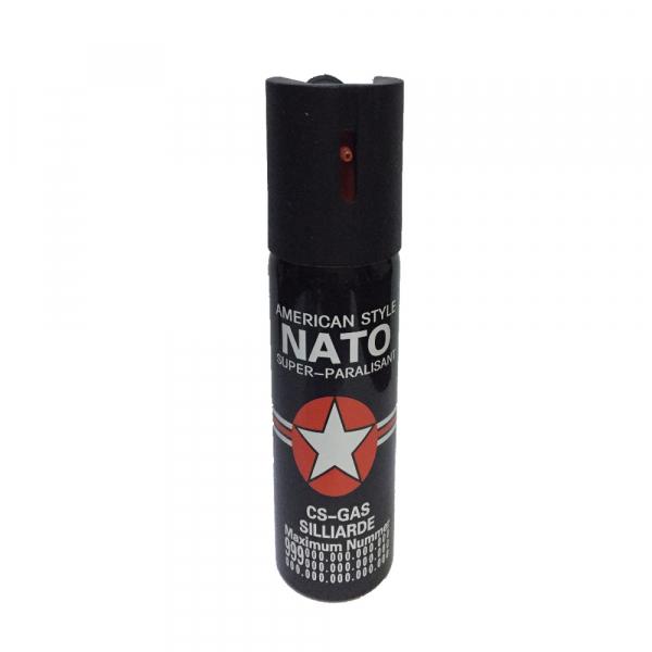 Spray paralizant NATO, propulsie jet, 90 ml, negru 0