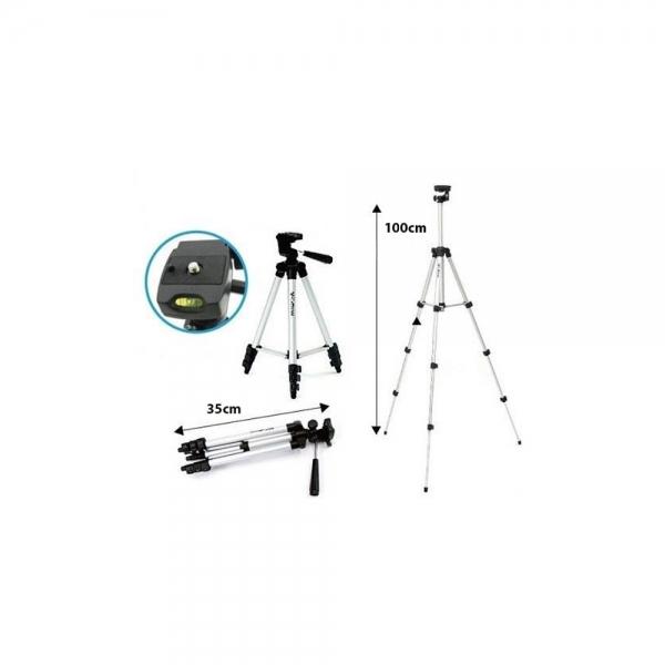 Trepied Foto-Video, Husa Cadou,100 cm 4