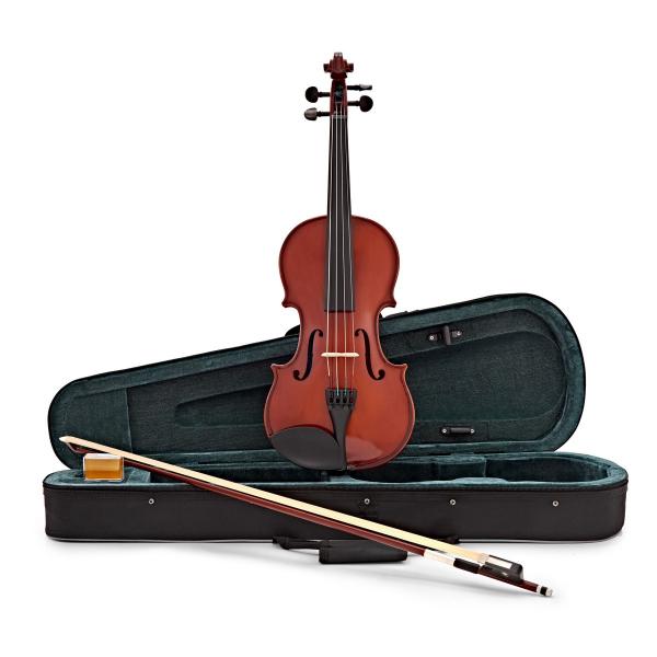 Viola-vioara clasica din lemn, 7/8, 65 cm, toc inclus 0