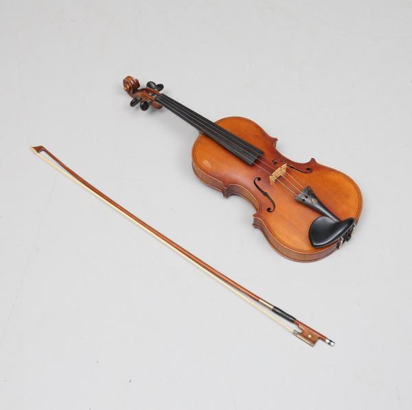 Viola-vioara clasica din lemn, 7/8, 65 cm, toc inclus 2