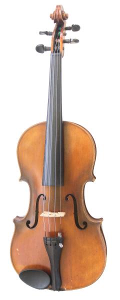 Viola-vioara clasica din lemn, 7/8, 65 cm, toc inclus 1