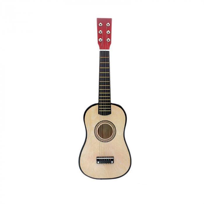 Chitara pentru copii, clasica, lemn, Junior, 54 cm [0]