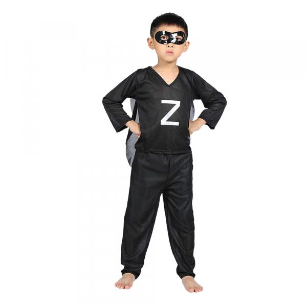 Costum Zorro pentru copii, marimea L, 7-9 ani 0