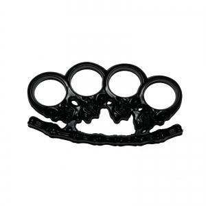 Rozeta - Box - Pumnal - Cap de mort - Craniu - Negru [0]