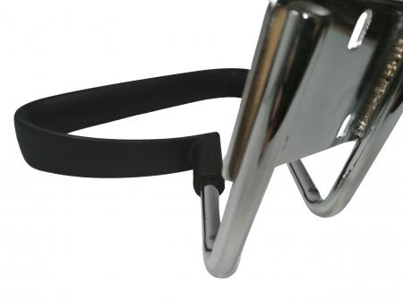 Set doua brate, manere, scaun directorial, metal, negre [5]
