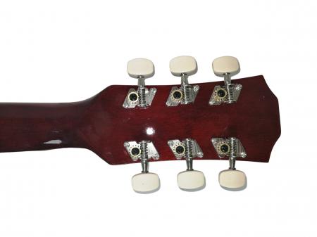 Chitara clasica din lemn 95 cm, visinie Cutaway, husa nylon inclusa6