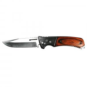 Cutit Stainless steel, pentru camping, 20 cm, husa cadou, automatic1
