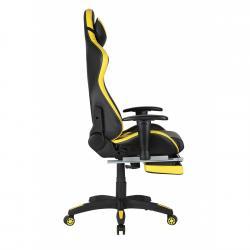 Scaun gamer US78 Racing Pro negru-galben4