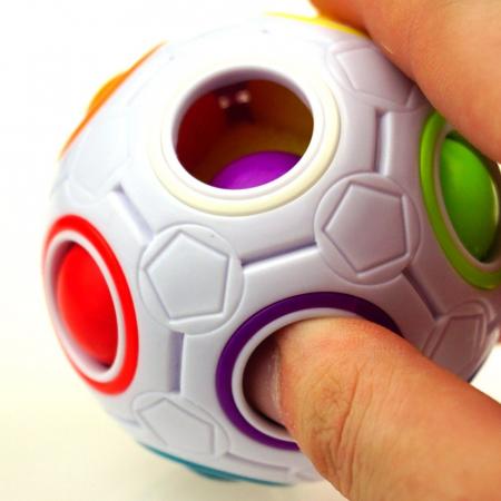 Jucarie antistres, bila magica, plastic, multicolor, 3 + ani [3]