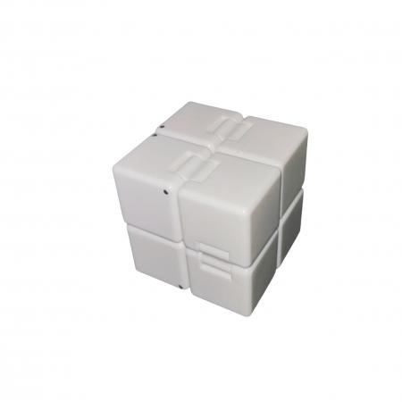 Jucarie antistres, cubul infinitului, 4 cm, plastic [0]