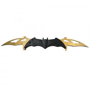 Briceag-cutit, doua taisuri, negru-auriu, Clasic Batman Style, 32 cm0