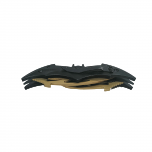 Briceag-cutit, doua taisuri, negru-auriu, Clasic Batman Style, 32 cm2