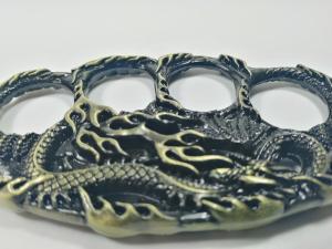 Rozeta, tip Box-Pumnal, model Fire Dragon Skin, aramiu [3]