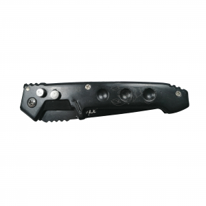 Cutit-Briceag, automatic, negru, prindere curea, 21.5 cm [1]