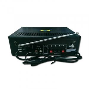 Amplificator digital, tip Statie, 2x30 W, telecomanda, USB-SD, 2 intrari microfon2