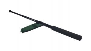 Baston telescopic, 64 cm, maner burete, negru0