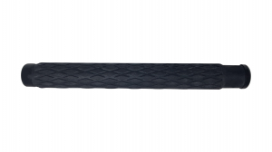 Baston telescopic din otel, negru, 60 cm, 3 sectiuni, husa cadou6