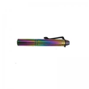 Baston telescopic din otel, rainbow, 42 cm, 3 sectiuni, husa cadou5
