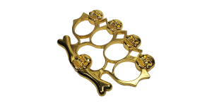 Box - Rozeta model Craniu, auriu1