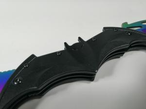 Briceag-cutit, doua taisuri, negru-multicolor, Fade Batman Style, 32 cm1