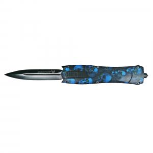 Briceag, PVC, Blue Skulls, 23.5 cm0