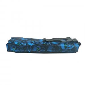 Briceag, PVC, Blue Skulls, 23.5 cm2