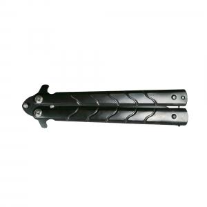 Cutit-Briceag, tip fluture, otel inoxidabil, negru, Ninja, 22.5 cm [1]