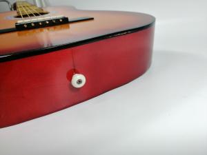 Chitara clasica din lemn 95 cm, natur clasic3
