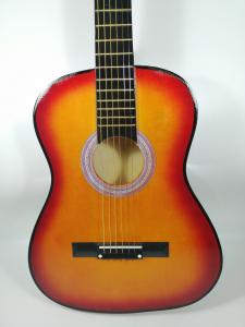 Chitara clasica din lemn 95 cm, natur clasic1