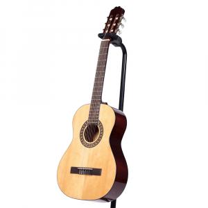 Chitara clasica din lemn 95 cm, clasic natur1