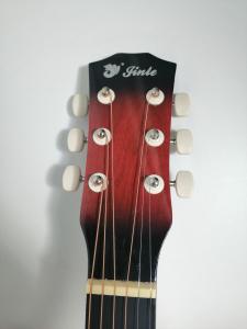 Chitara clasica din lemn 95 cm, Cutaway Country Red [2]