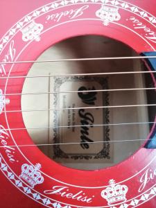 Chitara clasica din lemn 95 cm, Cutaway Country Red [4]