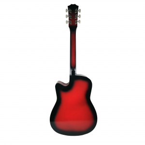 Chitara clasica din lemn 95 cm, Cutaway Country Red [1]