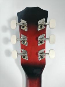 Chitara clasica din lemn 95 cm, Cutaway Country Red [3]