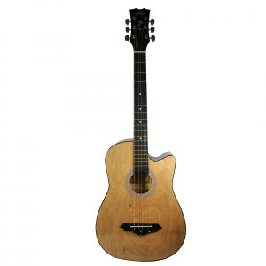 Chitara clasica din lemn 95 cm, Deluxe Edition, Cutaway Country Natur0