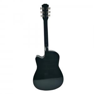 Chitara clasica din lemn 95 cm, Cutaway Country Black1
