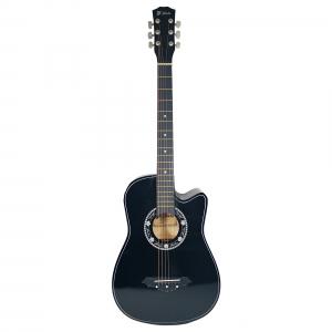 Chitara clasica din lemn 95 cm, Cutaway Country Black0