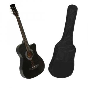 Chitara clasica din lemn 95 cm, husa nylon cadou [0]