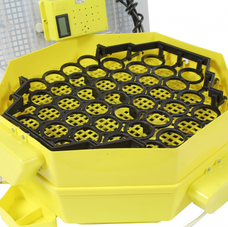 Incubator electric pentru oua cu dispozitiv de intoarcere automat, termometru si termohigrometru, Cleo, model 5DTH-A [4]