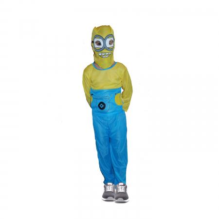 Costum Minion pentru copii, galben-albastru [1]
