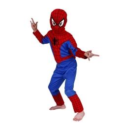 Costum Spiderman pentru copii marime M pentru 5 - 7 ani0