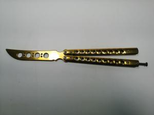 Cutit, Briceag fluture, Butterfly, Grand Gold, pentru antrenament, 27.5 cm1