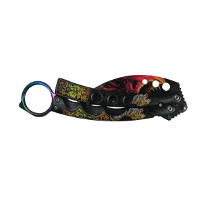 Cutit - Briceag Fluture tip Karambit, Red Daemon2