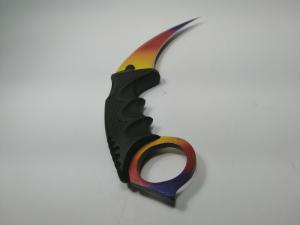 Cutit Karambit, tricolor 18.5 cm1