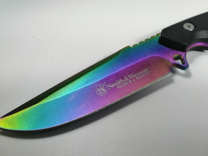 Cutit-Survival, Smith & Wesson, 26.5 cm, Rainbow Edition4